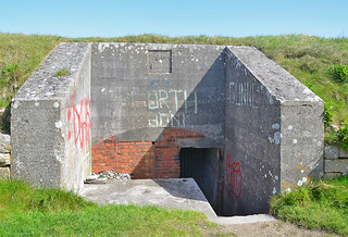 High Angle Battery, Portland, Dorset - 9 May 2013