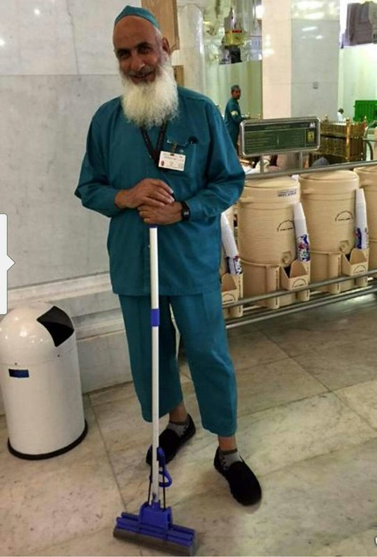5014 A cleaner in Makkah who is said to be a millionaire – Really 01