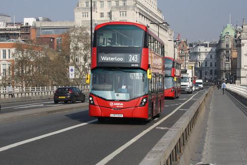 Arriva London HV352 LF67EUX