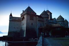 External View of Chillon Castle