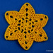 Six pointed Star Crochet Motif