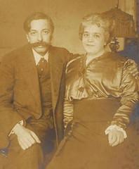 E.Granados i la seva dona Amparo