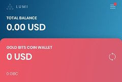 Listing in Lumi wallet
