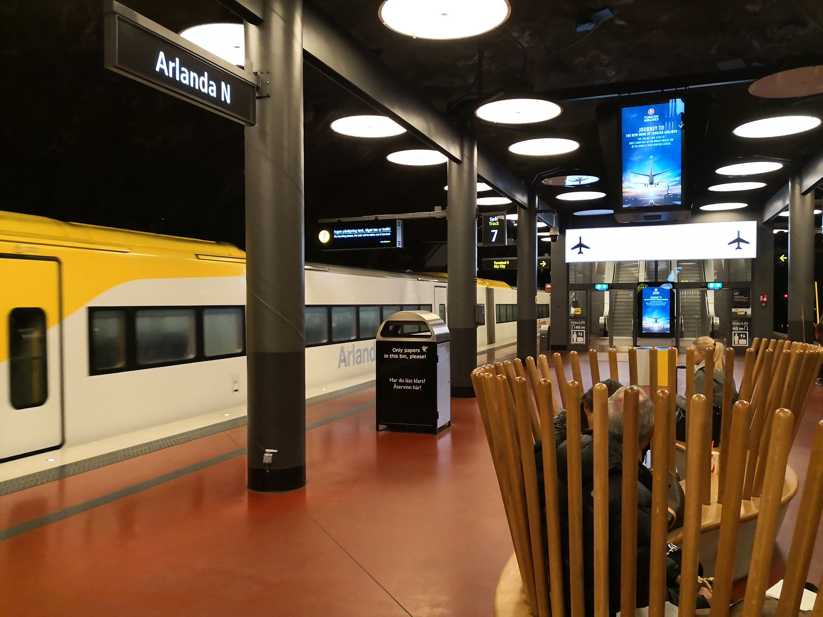 Station for the Arlanda Express