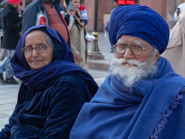 Old Sikh people