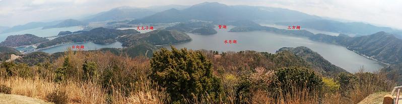 梅丈岳俯瞰五湖 2