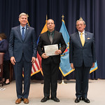Fri, 03/29/2019 - 14:30 - On Friday, March 29, 2019, the William J. Perry Center for Hemispheric Defense Studies hosted a graduation ceremony for two courses: 'Strategic Implications of Human Rights and Rule of Law' and 'Combating Transnational Threat Networks.' Students from all over the Americas attended the courses from March 18-29, 2019. The graduation ceremony and reception took place in Lincoln Hall at the National Defense University's North Campus at Fort McNair in Washington, DC.