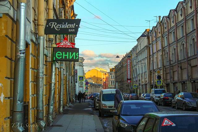 Ulitsa Lomonosova, Saint Petersburg