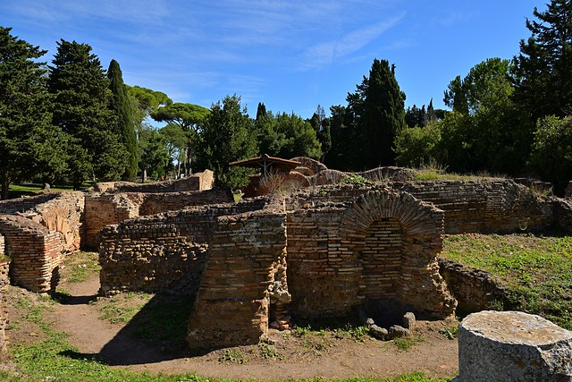 Rome / Ostia Antica /  Ruins