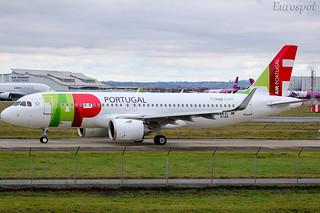 F-WWBI Airbus A320Neo Air Portugal   by @Eurospot