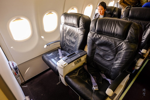Business Class bulkhead seats | by A. Wee