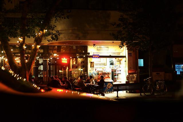 Tel Aviv Night Life Atmosphere
