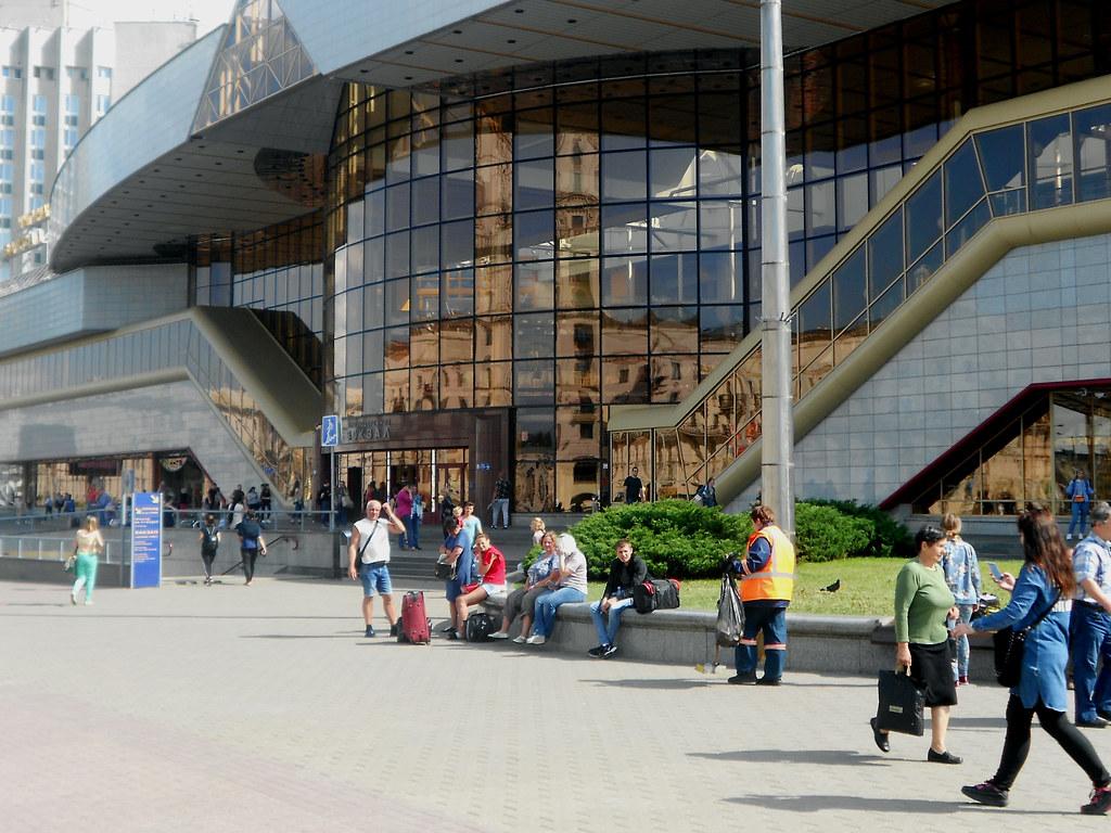 Минск. Пассажирский вокзал.