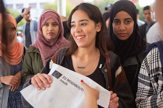 "Maroc - Agadir - Campus Tour #EU4YOUth... pour fêter les #50ansMarocUE -  المغرب ـ أكاديرـ جولة في الحرم الجامعي #EU4YOUth ""الإحتفال ب#50سنة المغرب أوروبا"""