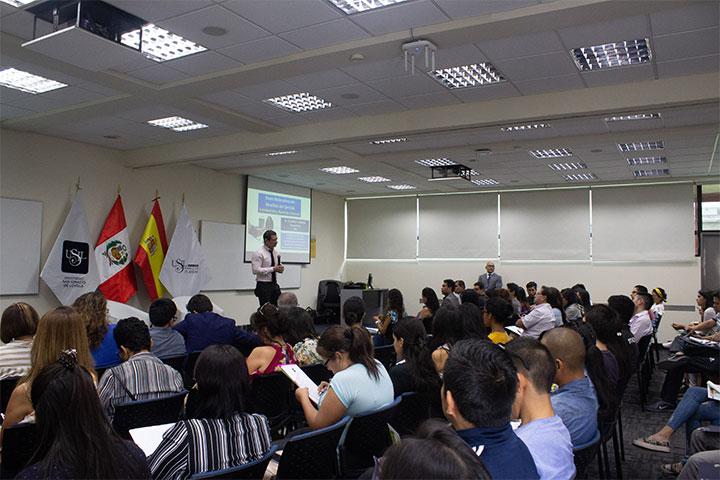 """USIL organizó la jornada académica """"Actividad física, nutrición y deporte"""""""