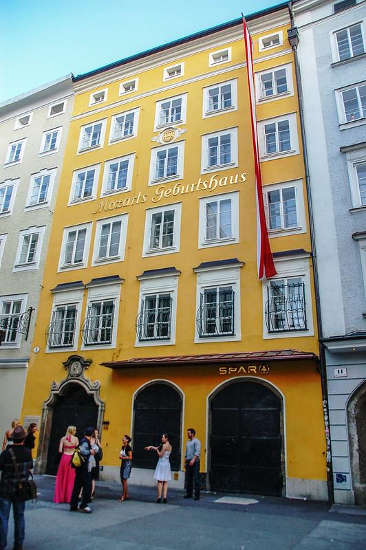 莫札特故居 (Mozart Geburstshaus) 1