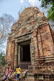 Prasat Thom, Koh Ker, Cambodia.  April 5, 2019. | by Joe Schulz
