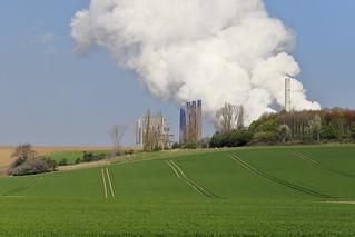 Kraftwerk auf dem Land