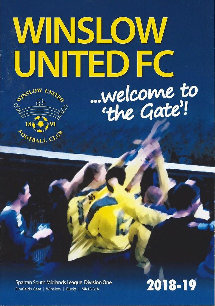 Winslow United v Ampthill Town SSMFL