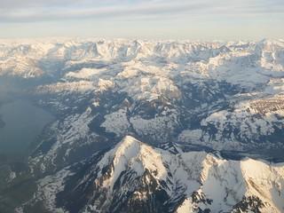 Niesen Eiger Mönch Jungfrau Bernese Oberland Switzerland