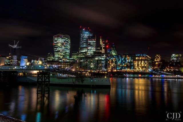 City Lights, London Nights.....(Crazy Tuesday! - Reflections)
