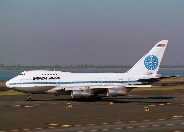 N537PA Boeing 747SP21 Pan Am