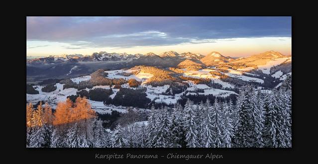 Karspitze Panorama