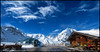 Panoramablick von der Madritschhütte - im Hintergrund der Gran Zebrù by angelofruhr