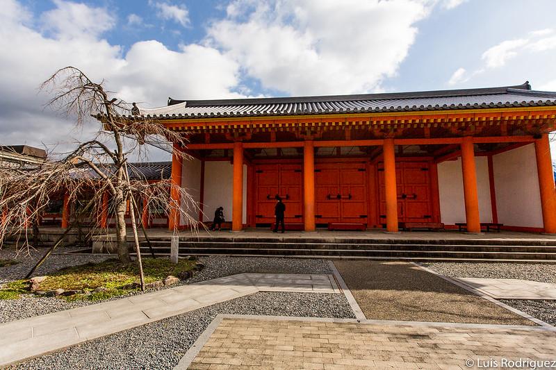 Puerta Higashi Daimon (vista desde dentro)