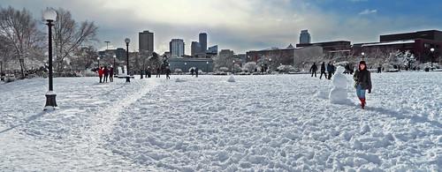 Urban Snowscape