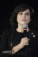 Creation Entertainment?s Once Upon A Time Tour, Burbank, CA with Lana Parrilla panel.
