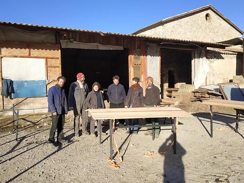 Table de tri laine - Prototypage | by L'Atelier Paysan