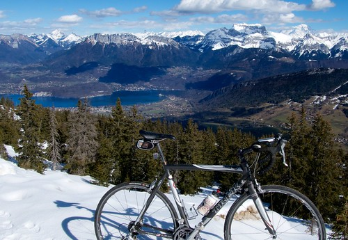 Lake Annecy in Distance | by will_cyclist