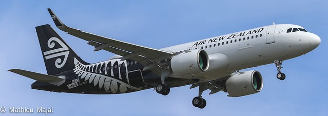 Airbus A320-200Neo / Air New Zealand