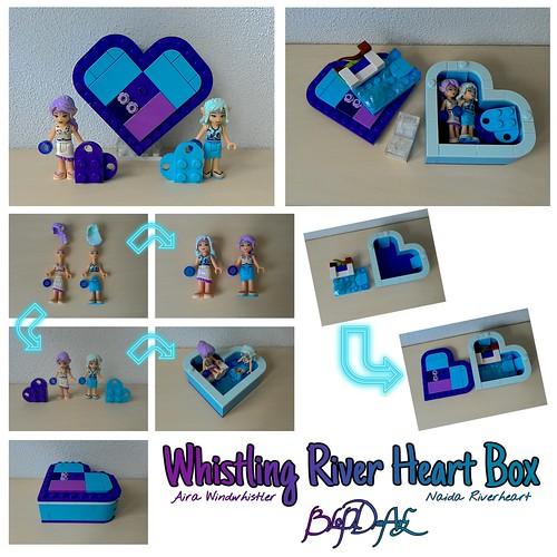 Whistling River Heart Box