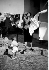 01, Muller emigrante no Uruguai, ama de casa, anos 50-60