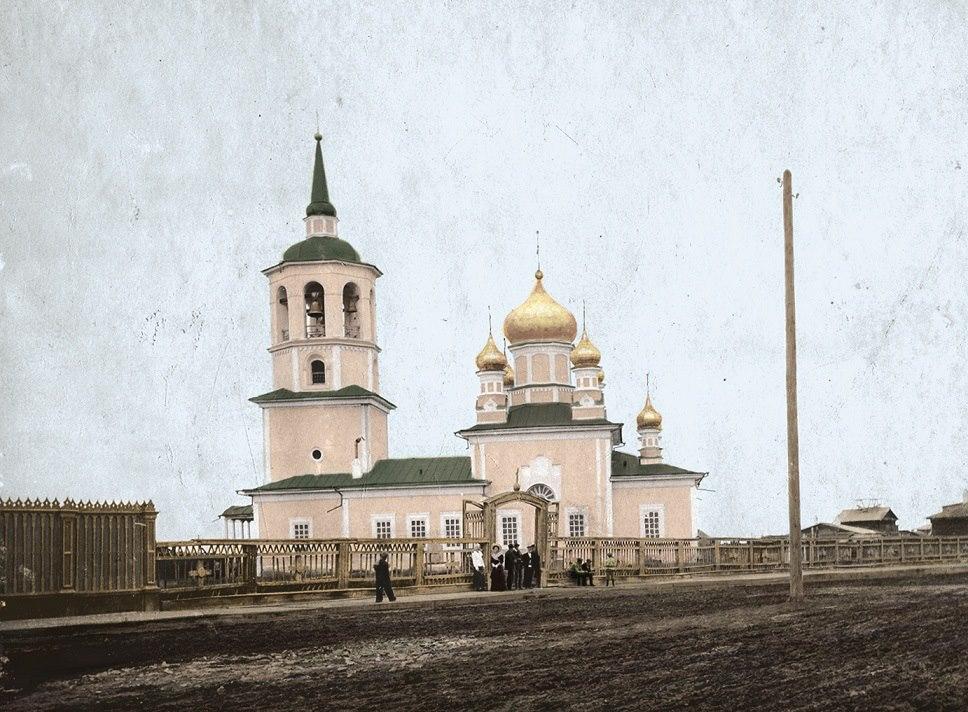 Градоякутская Предтеченская церковь.