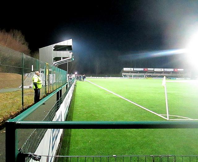 Park Hall Stadium from Southwest.