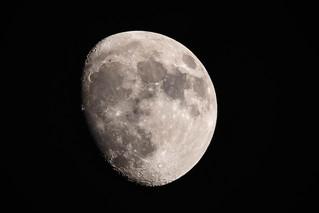 Waxing Gibbous Moon | by JJW1969