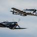 Corsair and P-51D Mustang by NeilCastle