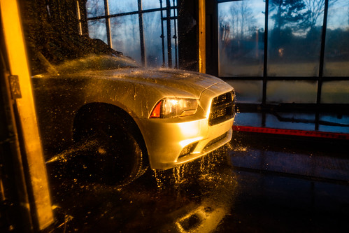 Dodge at Dusk at the Car Wash | by ericlwoods