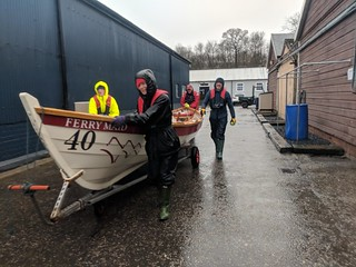 Training row March 2019 | by Queensferry Rowing Club
