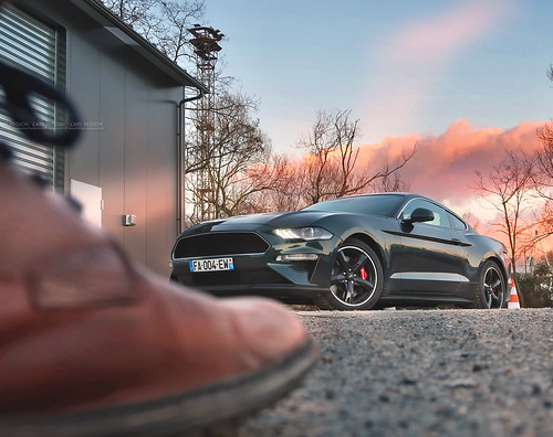 Essai Ford Mustang GT 2018 V8 BULLITT   by dsgforever
