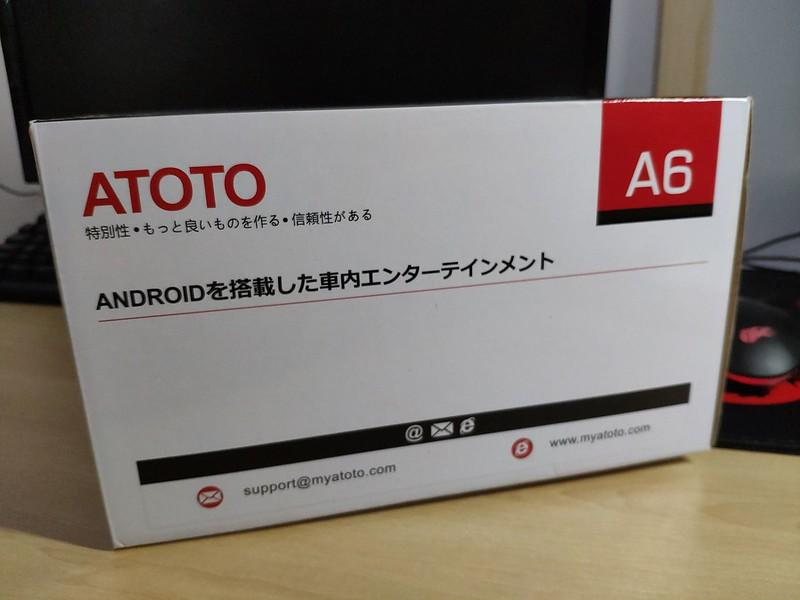 ATOTO カーナビ 開封 (4)