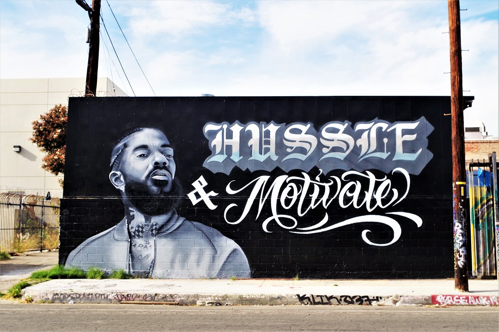 Tribute To Nipsey Hussle | Hussle & Motivate was the motto o… | Flickr