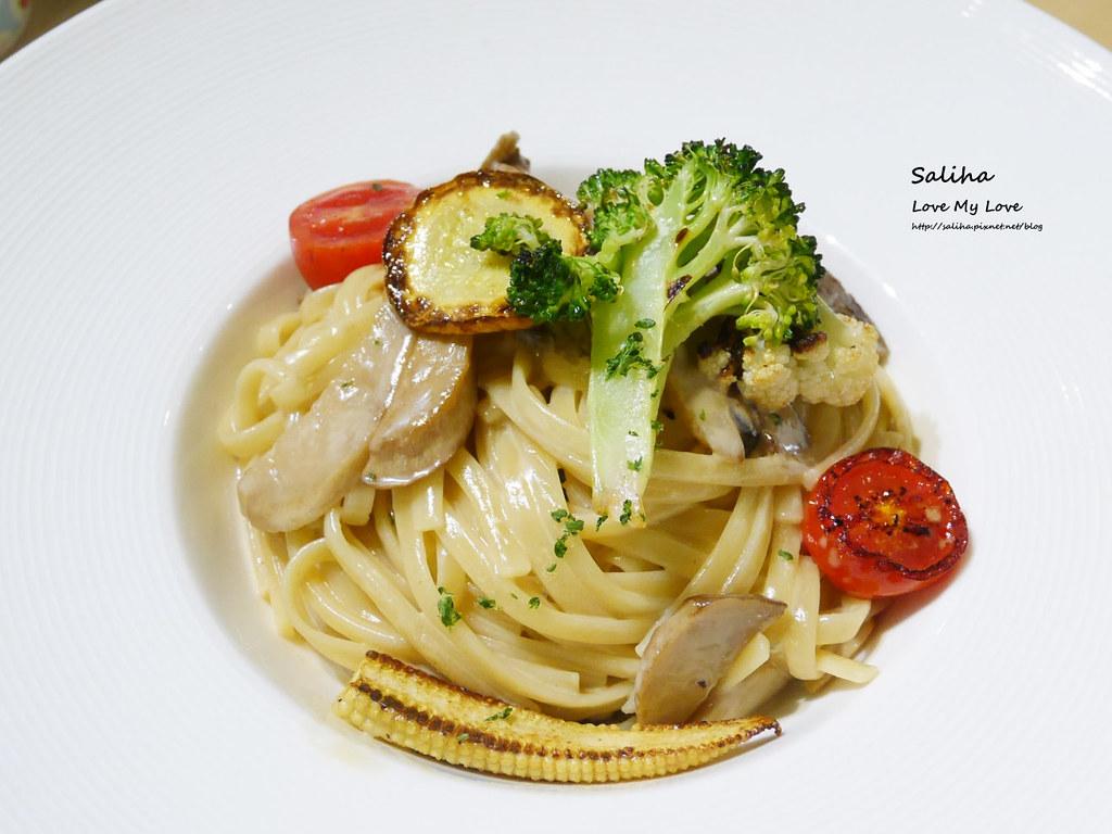 台北松山小巨蛋站咖啡廳甜點店Bubble Cafe素食義大利麵 (2)