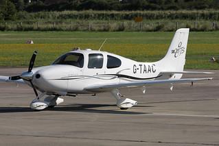 G-TAAC Cirrus SR20 GTS. Shoreham (ESH/EGKA) 18/Aug/2012