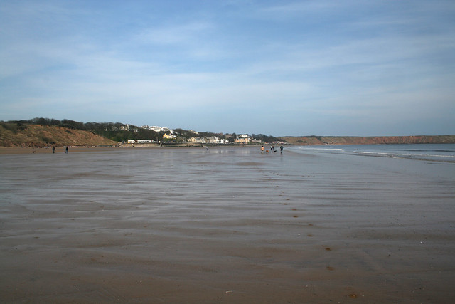 The beach at Filey