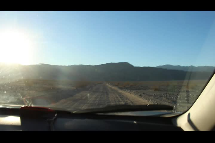 0281 Video of our voices while driving over the washboard section of the road to Marble Canyon