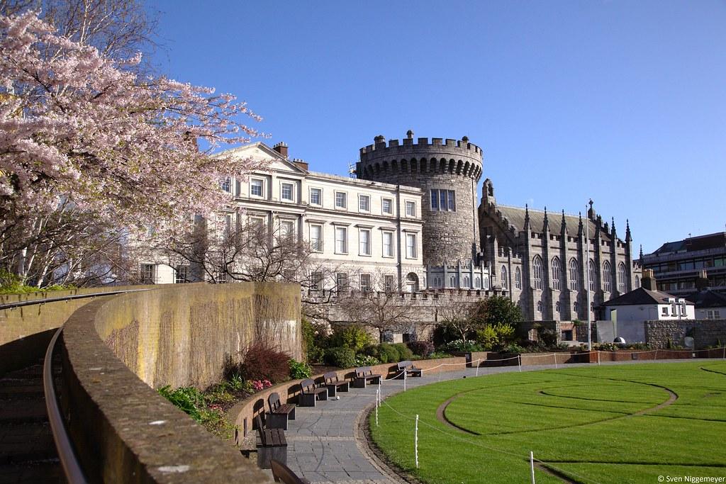 Dublin Castle am 16.04.18.